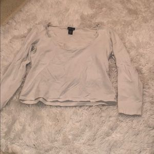White long sleeve XL